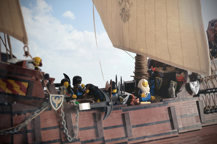 Janjy Giggins's Lego Galleon, The Sea Hawk Crew