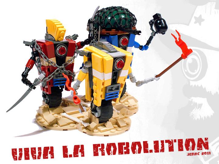 Jerac's Lego Borderlands Claptrap