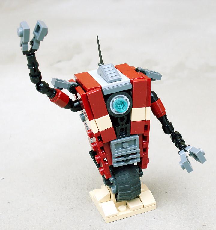 Jerac's Lego Borderlands Prototype