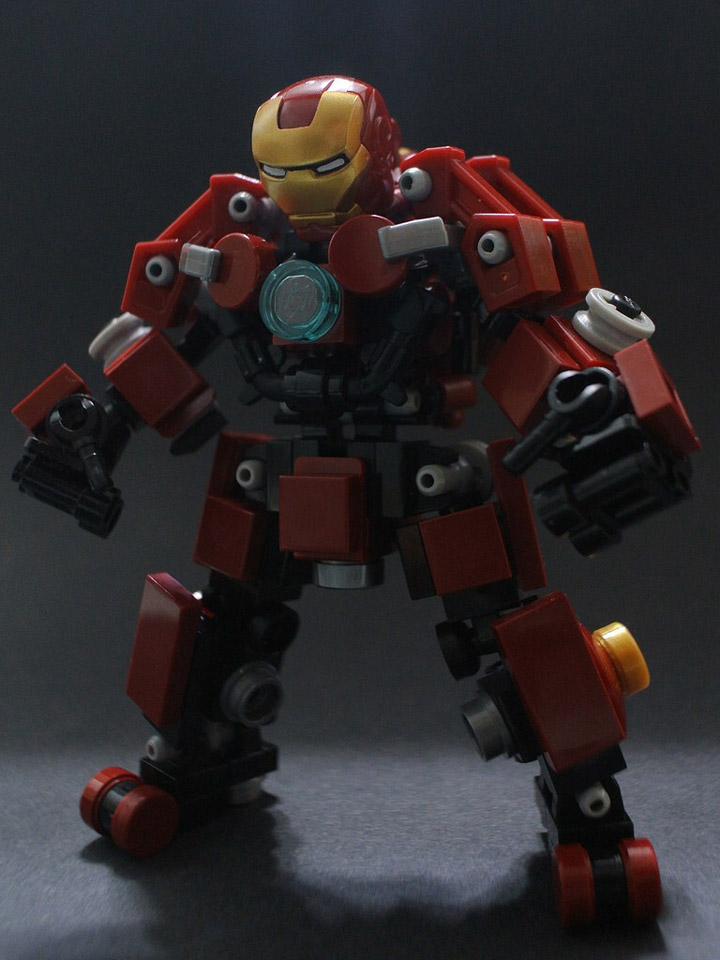 KaLor's Lego Hulkbuster, Iron Man