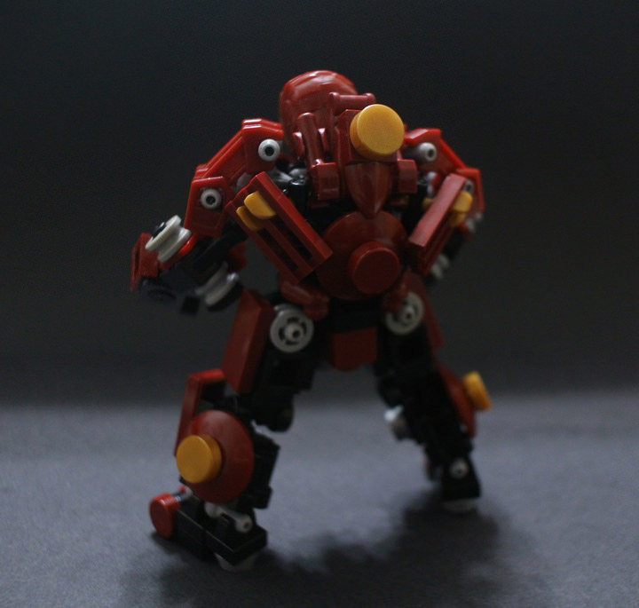 KaLor's Lego Hulkbuster, Iron Man Back