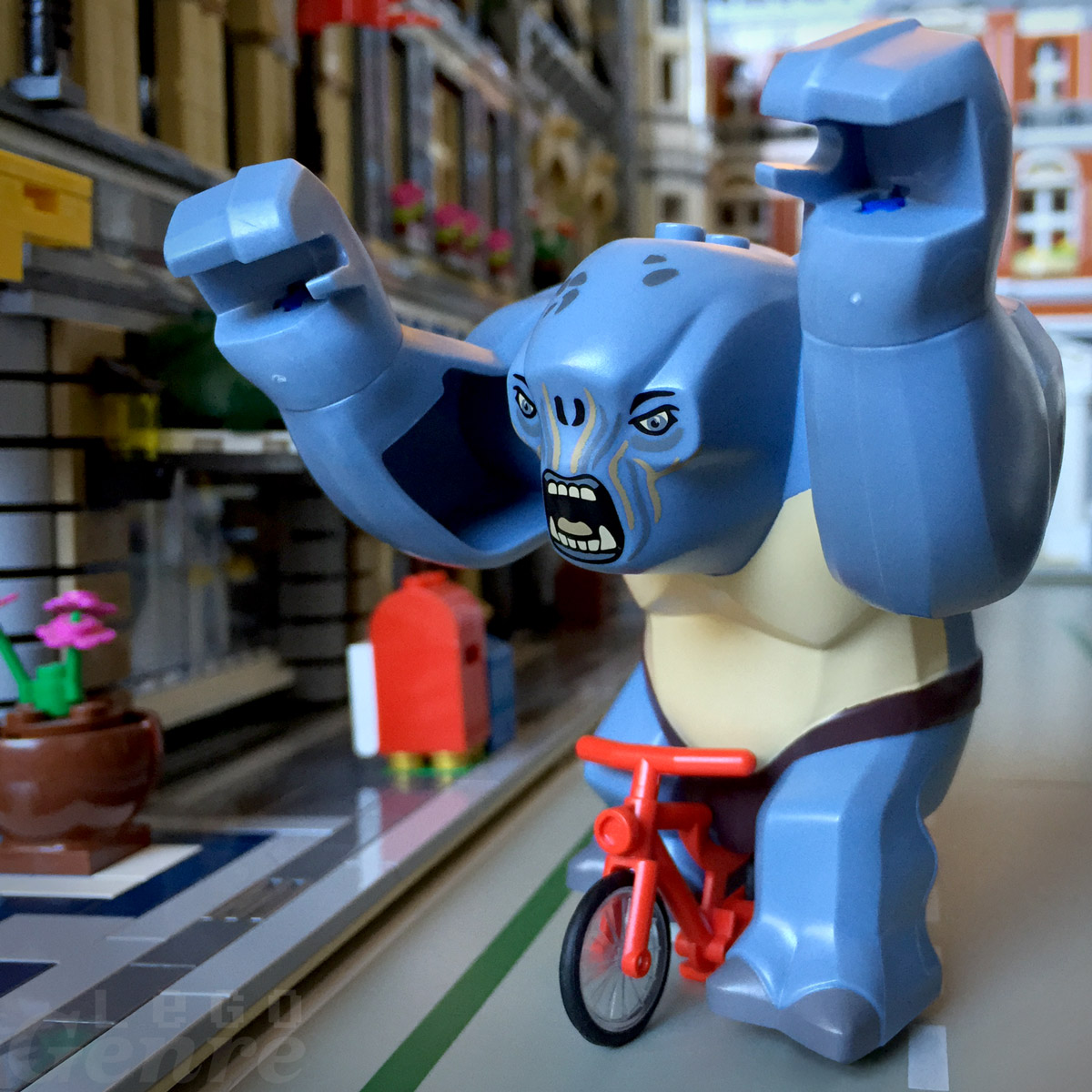 LegoGenre: Look Ma, No Hands!