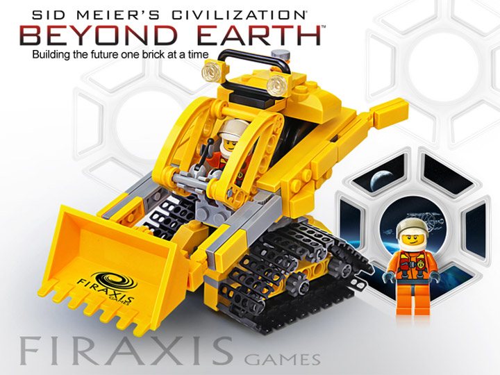 Lego Civilization Beyond Earth Worker Mech