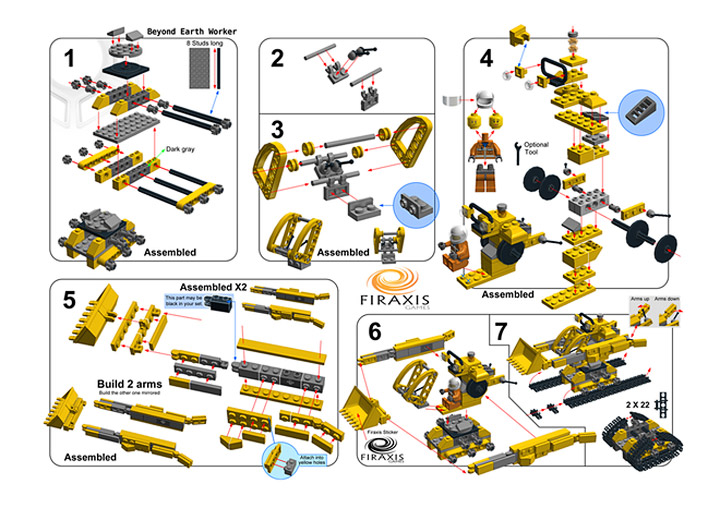 Lego Civilization Beyond Earth Instructions