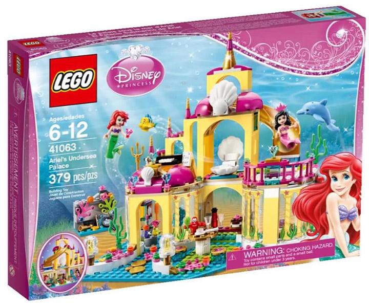 Lego Disney Princess Ariel's Undersea Palace 41063