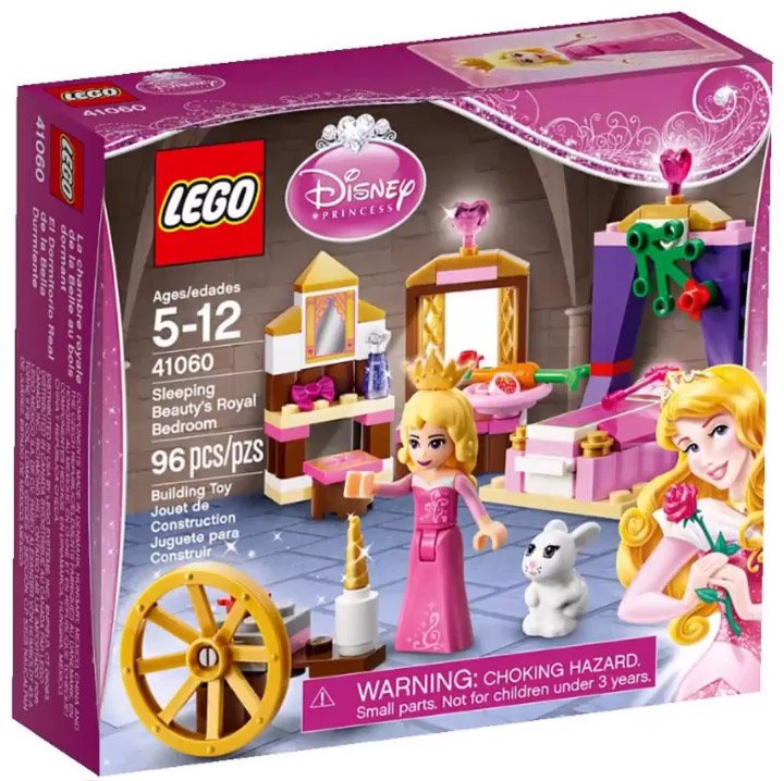 New Lego Disney Princess Sleeping Beauty's Royal Bedroom 41060