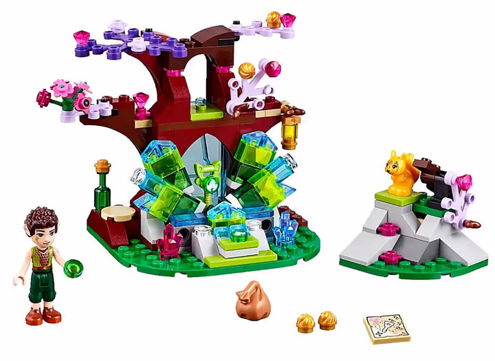 Lego Elves Fairan And The Crystal Hollow, 41076