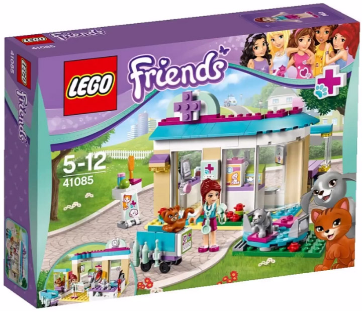 Lego Friends 2015. Animal Care Clinic 41085