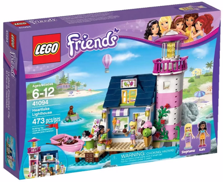 Lego Friends 2015. Heartlake Lighthouse 41094
