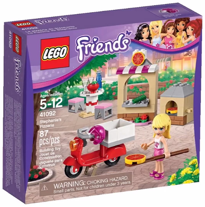 Lego Friends 2015. Stephanie's Pizzeria 41092
