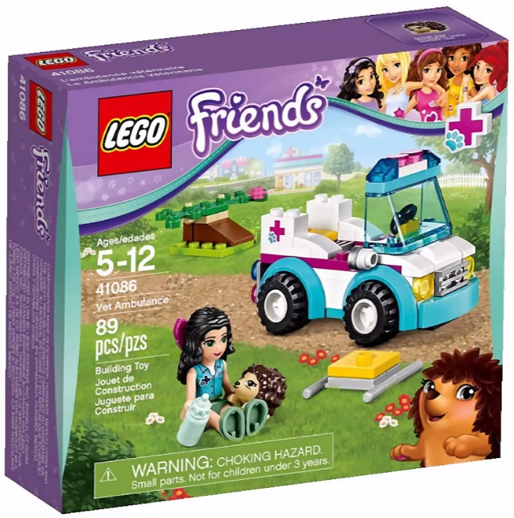 Lego Friends 2015. Vet Ambulance 41086
