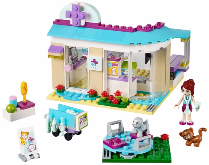 Lego Friends Animal Care Clinic 41085