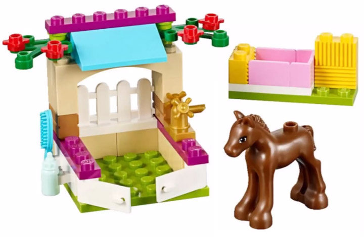 Lego Friends Foal Care Stable 41089