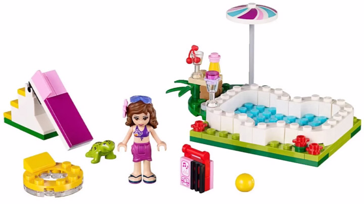 Lego Friends Olivia's Garden Pool 41090