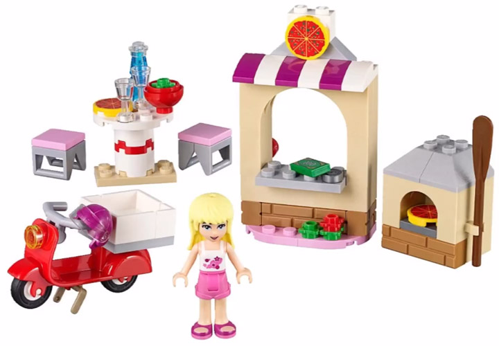 Lego Friends Stephanie's Pizzeria 41092