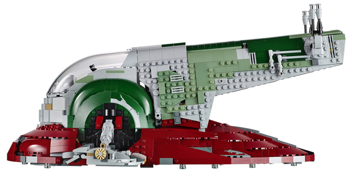 Lego Star Wars Slave I, 75060 Profile