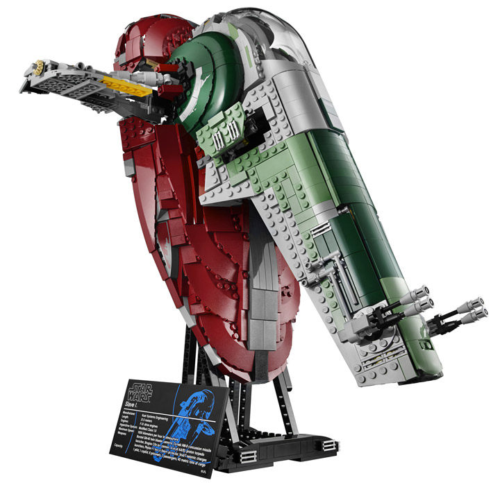 Lego Star Wars Slave 1, 75060 Ship
