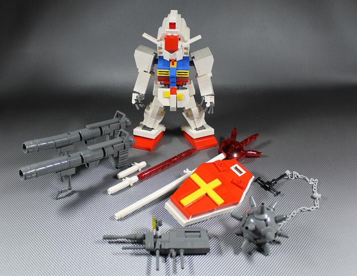 Moko's Lego Chibi Gundam 02