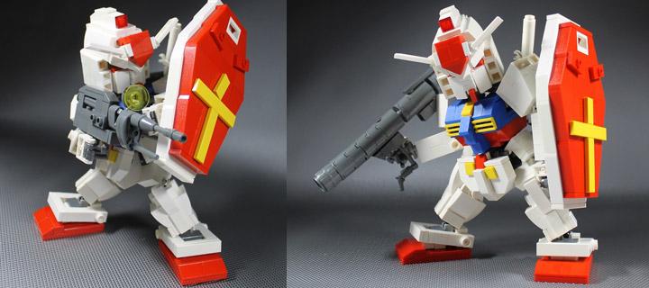 Moko's Lego Chibi Gundam 03
