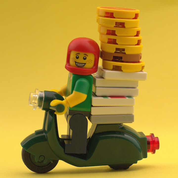 Nick Sweetman's Lego Friday Night Is Pizza Night