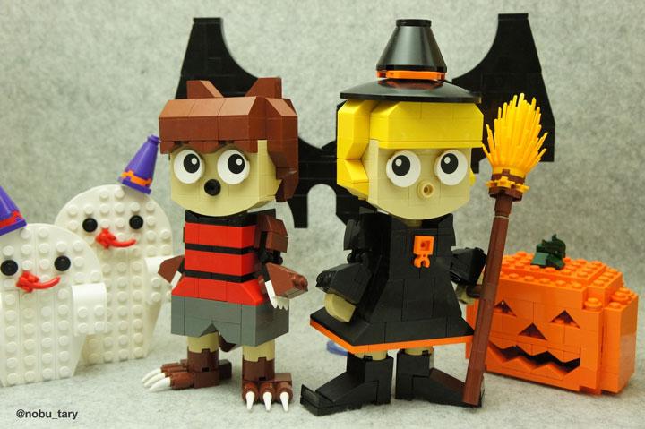 nobu_tary's Lego Halloween Costumes