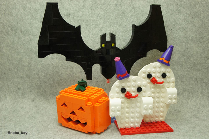 nobu_tary's Lego Halloween Decorations
