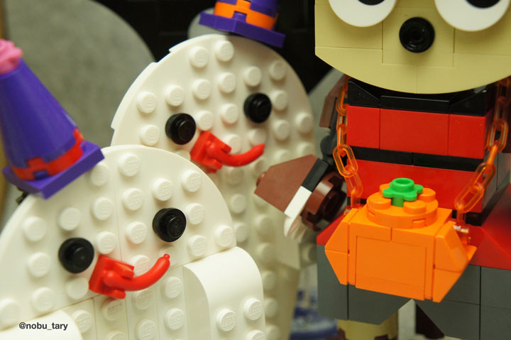 nobu_tary's Lego Halloween Ghosts