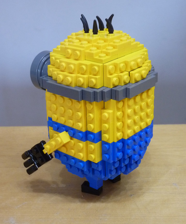 Oliver Kude's Lego Minion Papoy Butt