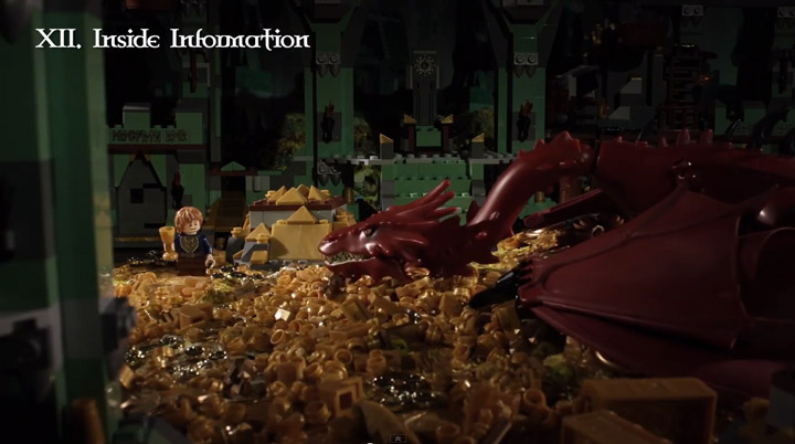 Lego The Hobbit Shortened To 72 Seconds, Brotherhood Workshop