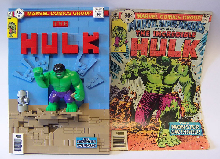 monsterbrick's Lego Comics, The Hulk 59
