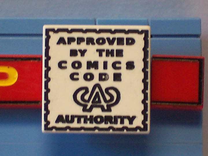 monsterbrick's Lego Comics, Approved By The Comics Code Authority