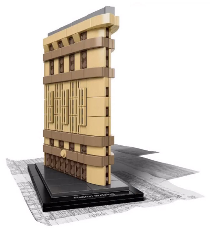 Keep and eye out for these. Lego Architecture sets have a habit of ...