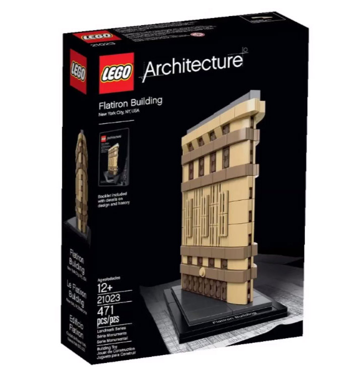 2015 Lego Architecture, Flatiron Building (21023) Box