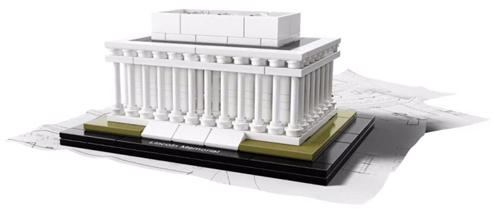 2015 Lego Architecture, Lincoln Memorial (21022)