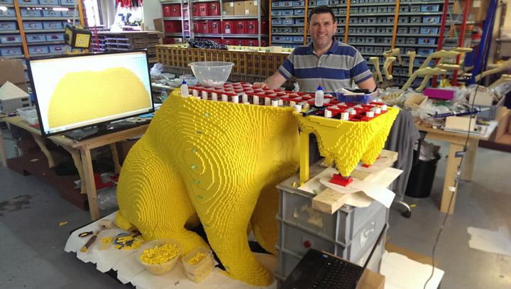Bright Bricks's Lego Scottie Dog Building