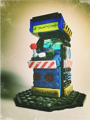 JoshuaDrake's Lego Arcade Machines Blue