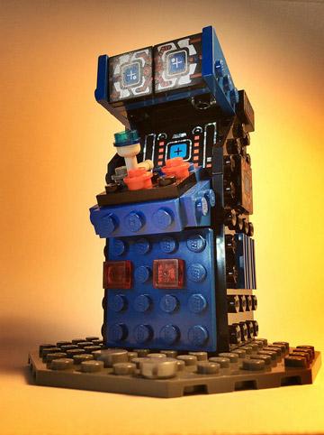 JoshuaDrake's Lego Arcade Cabinet Mystery Blue