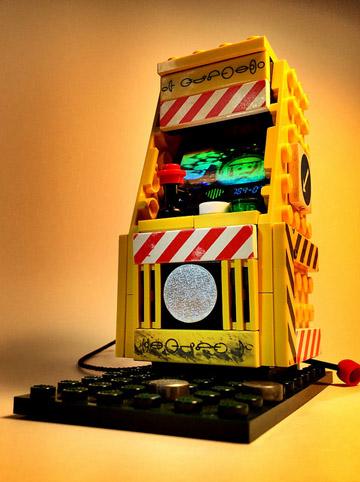JoshuaDrake's Lego Arcade Cabinet Mystery Yellow