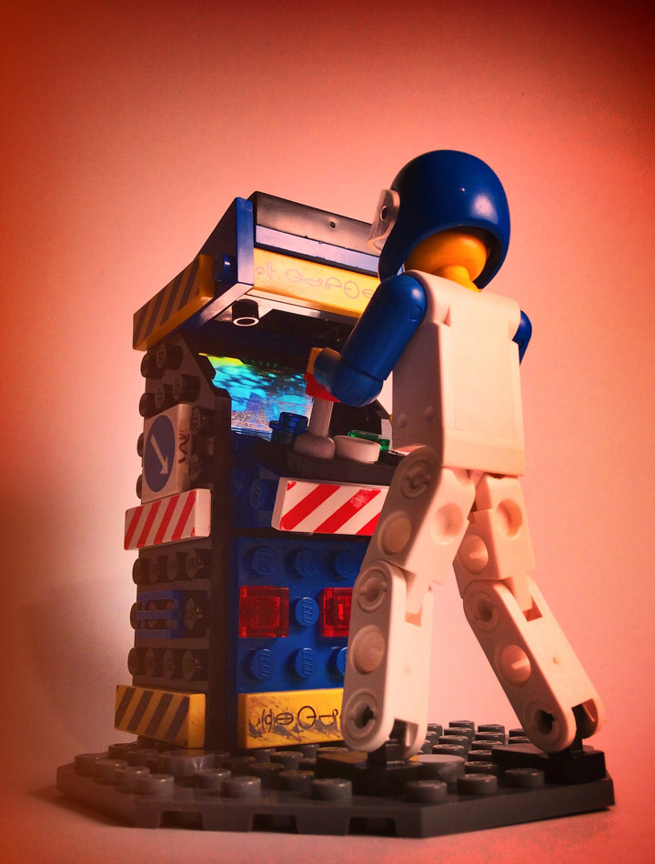 JoshuaDrake's Lego Arcade Machine Player 1
