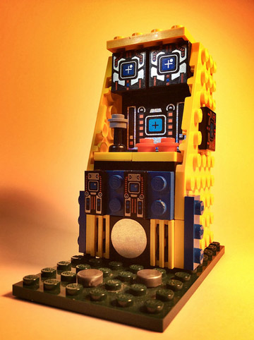 JoshuaDrake's Lego Arcade Machines Yellow