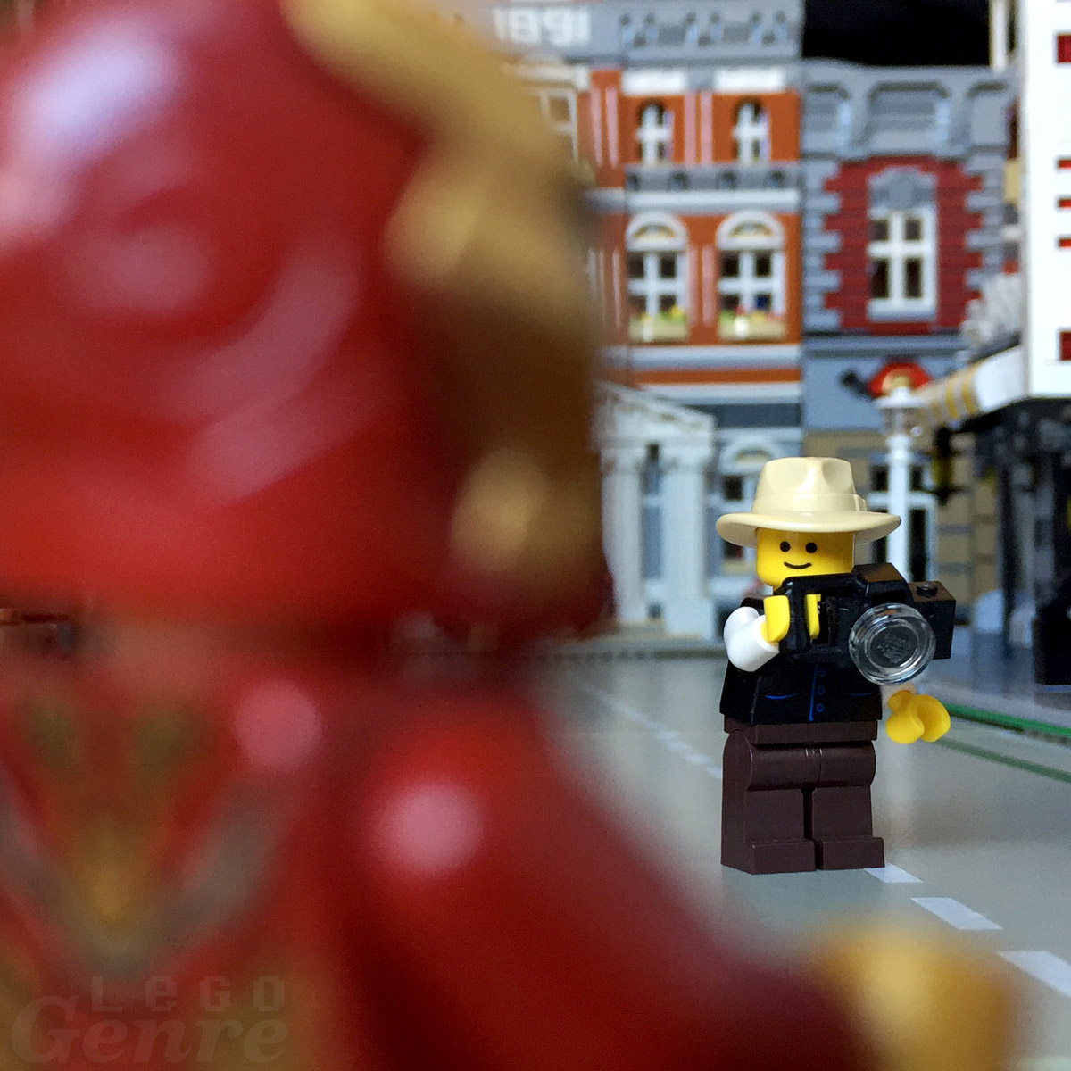 LegoGenre: It's Iron Man, quick get a picture!