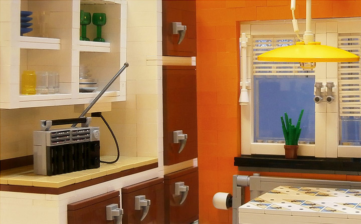LegoJalex's Lego Kitchen From The 70s