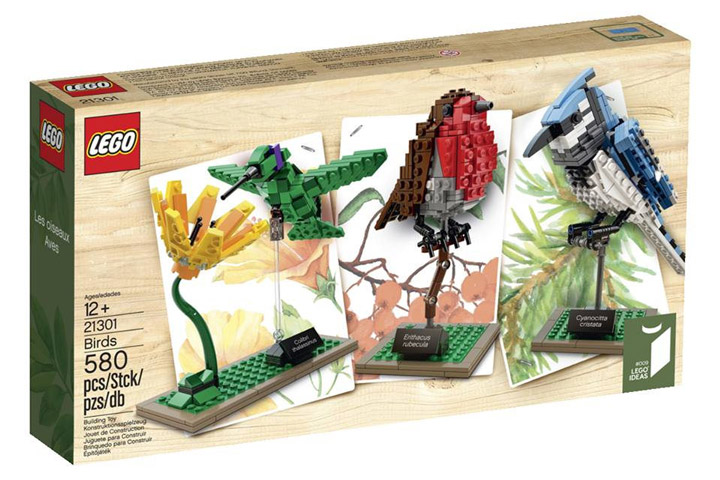 Lego Birds 21301 3D Box