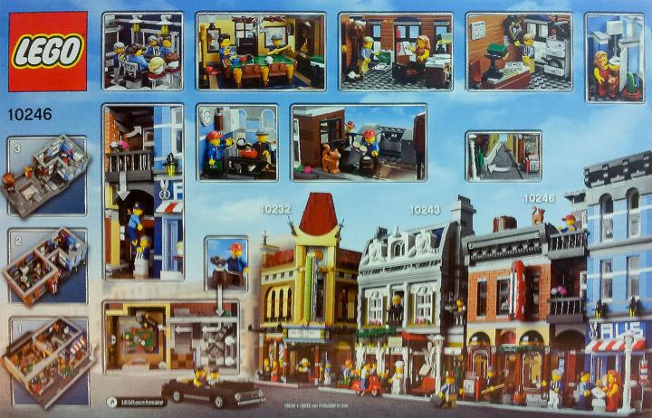 Lego Creator Detective's Office 10246 Modular Building