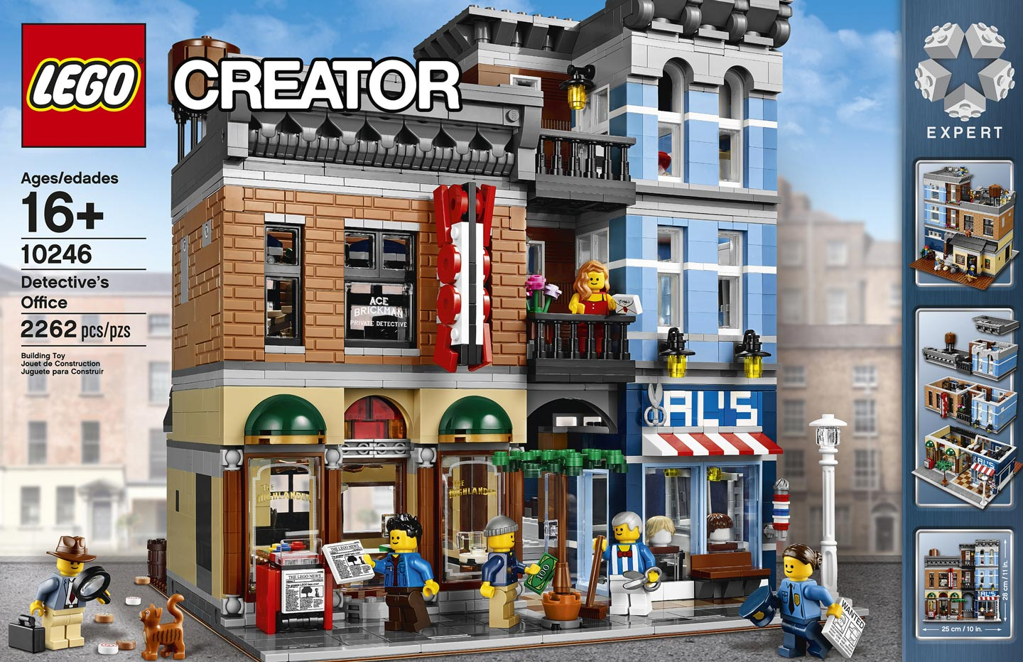 Lego Creator Detectives Office Modular Building Box