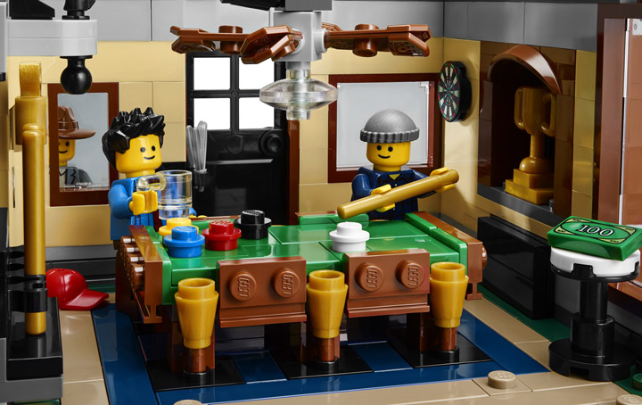 Lego Creator Detectives Office Modular Building Pool