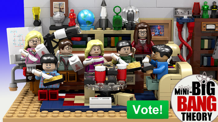 Lego Ideas, Big Bang Theory