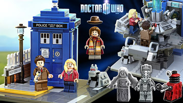 Lego Ideas, Doctor Who Characters