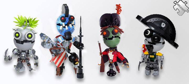Lego Pirate Jigbots