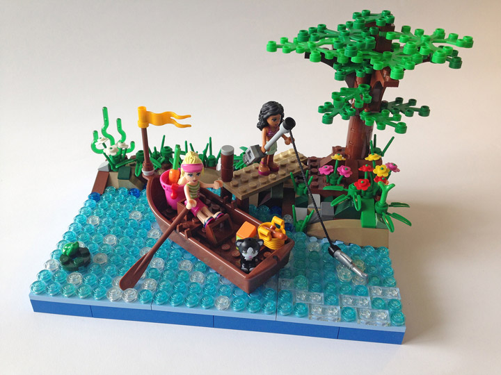 Martin5478's Lego Friends Spring Time Fishing